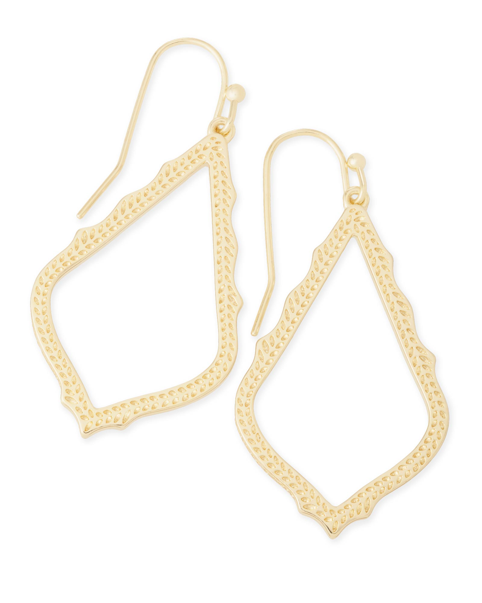 sophia drop earrings in gold kendra scott jewelry