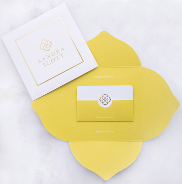 Gift Certificate Kendra Scott Online Gift Card