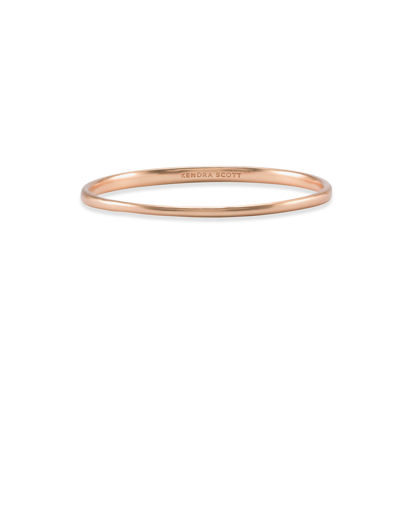 Graduated Bangle Bracelet in Rose Gold