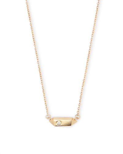 Charly Pendant Necklace in Gold