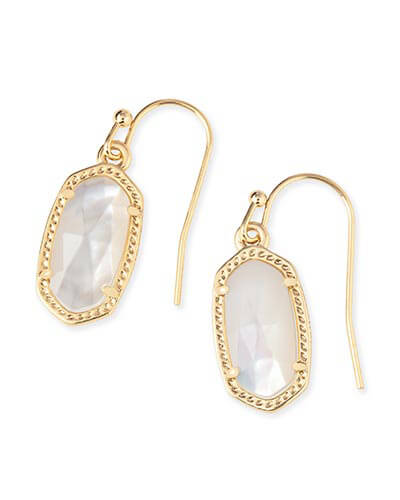 Lee Earrings in Ivory Pearl
