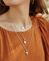 The University of Texas at Austin Longhorn Charm in Rose Gold