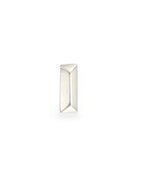 Rand Mini Stud Earring in 14K White Gold