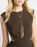 Phara Lariat Necklace