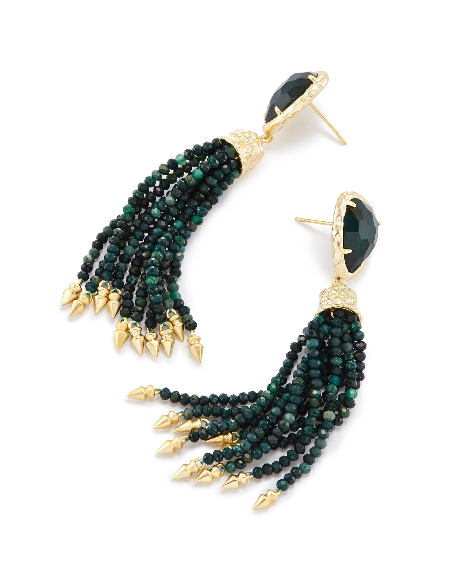 Blossom Statement Tassel Earrings