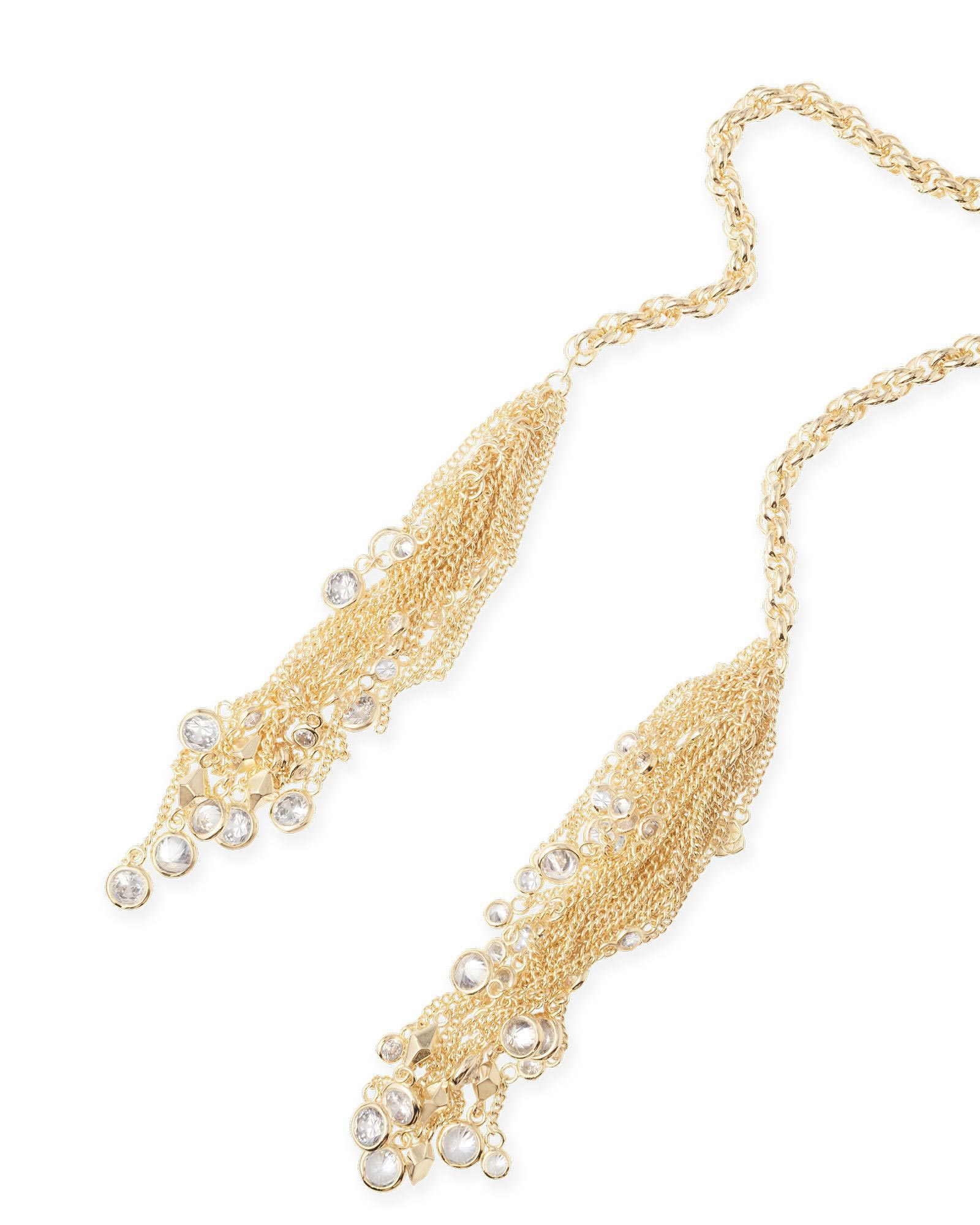 Sloan Lariat Necklace in Gold | Kendra Scott Jewelry