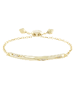 Angela Adjustable Chain Bracelet in Gold