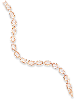 Cole Rose Gold Link Bracelet