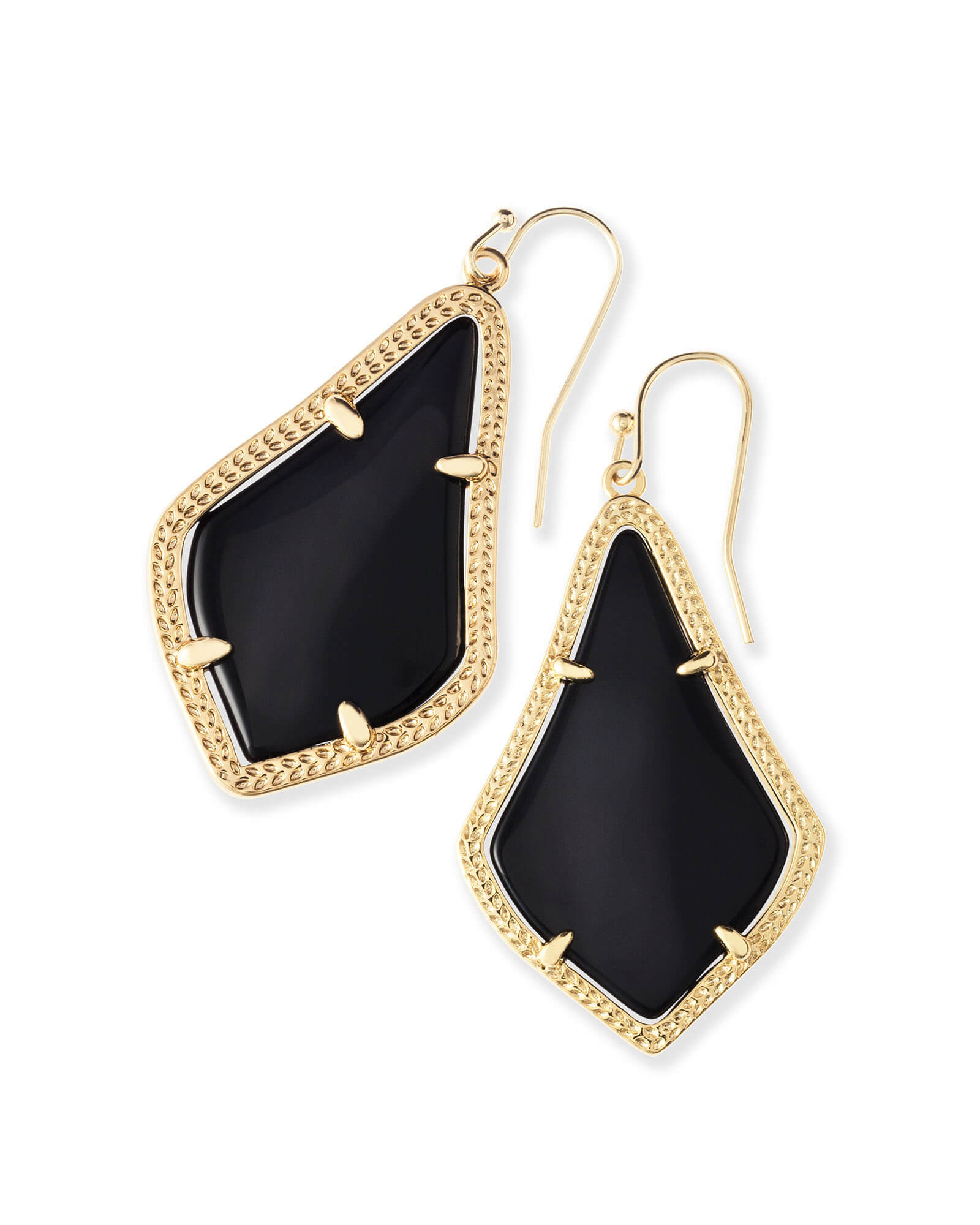 Alex Drop Earrings in Gold