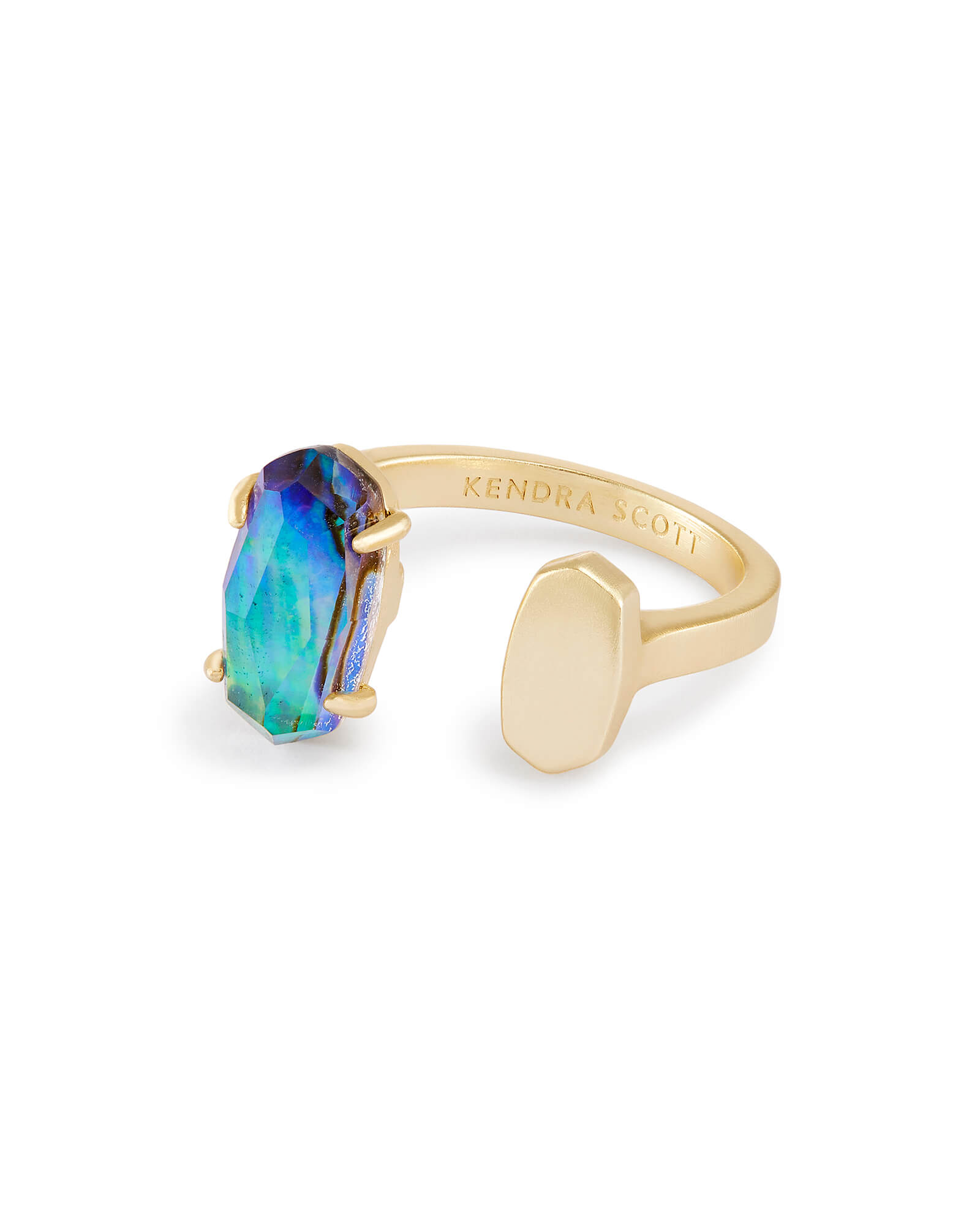 boutique rings products melanie auld stone band jewelry abalone ring online