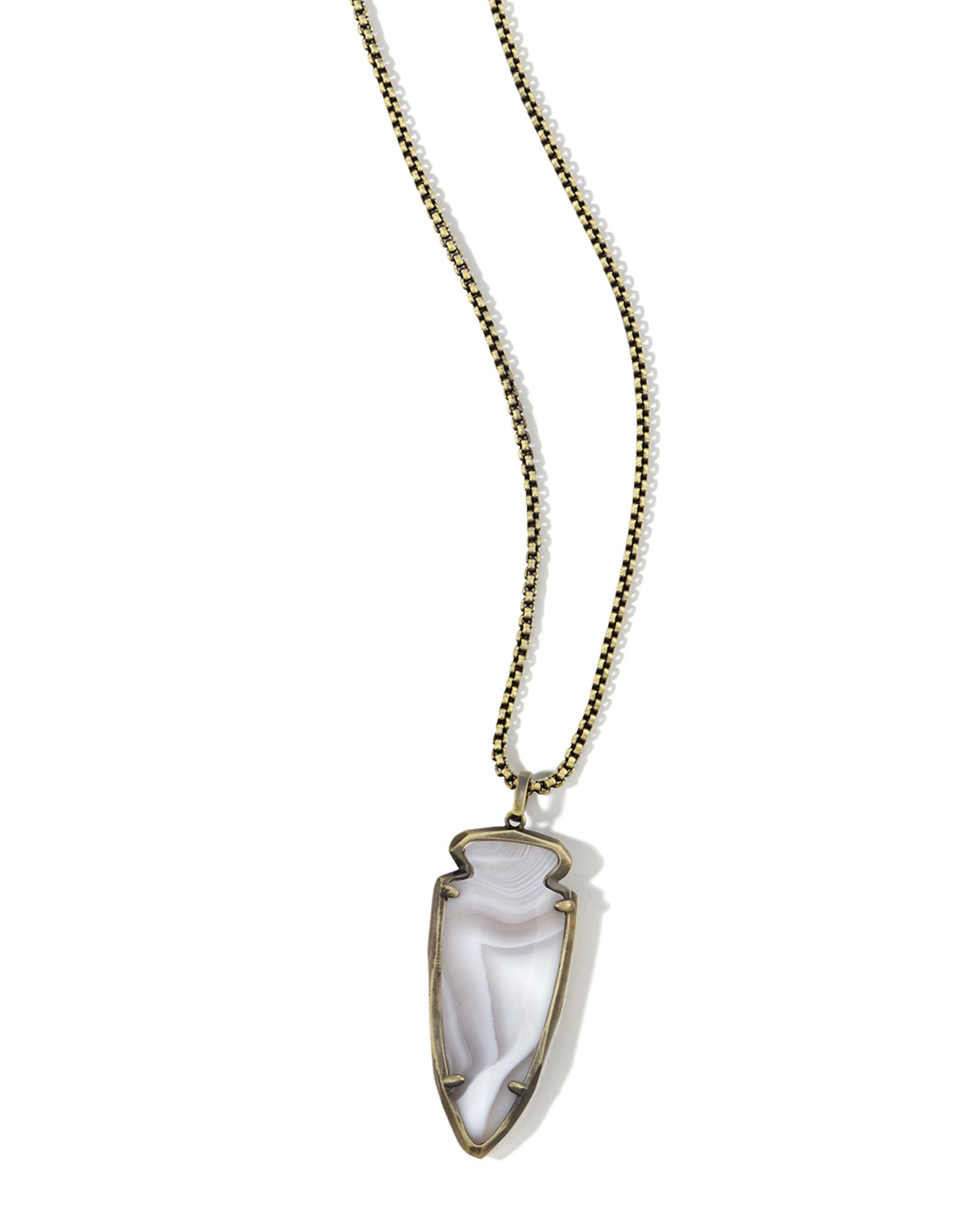 Kimmy Arrowhead Pendant Necklace