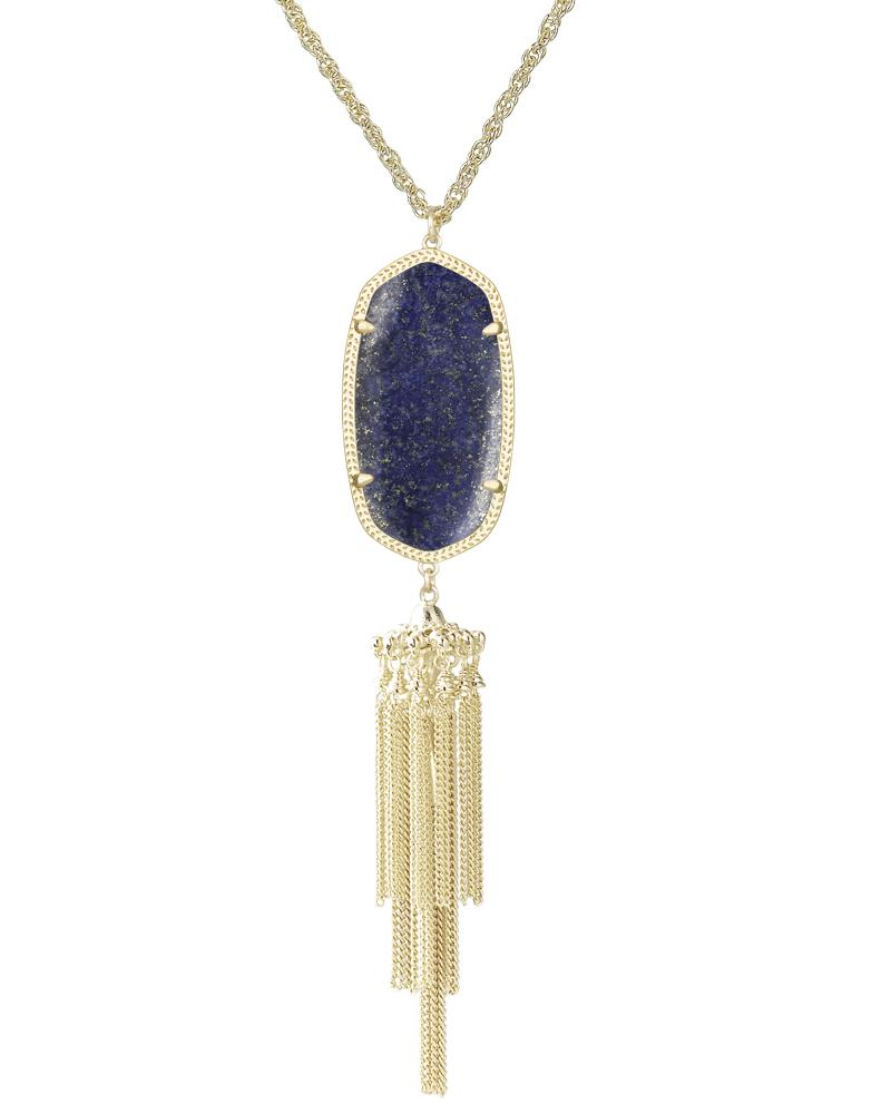 Rayne Necklace in Lapis