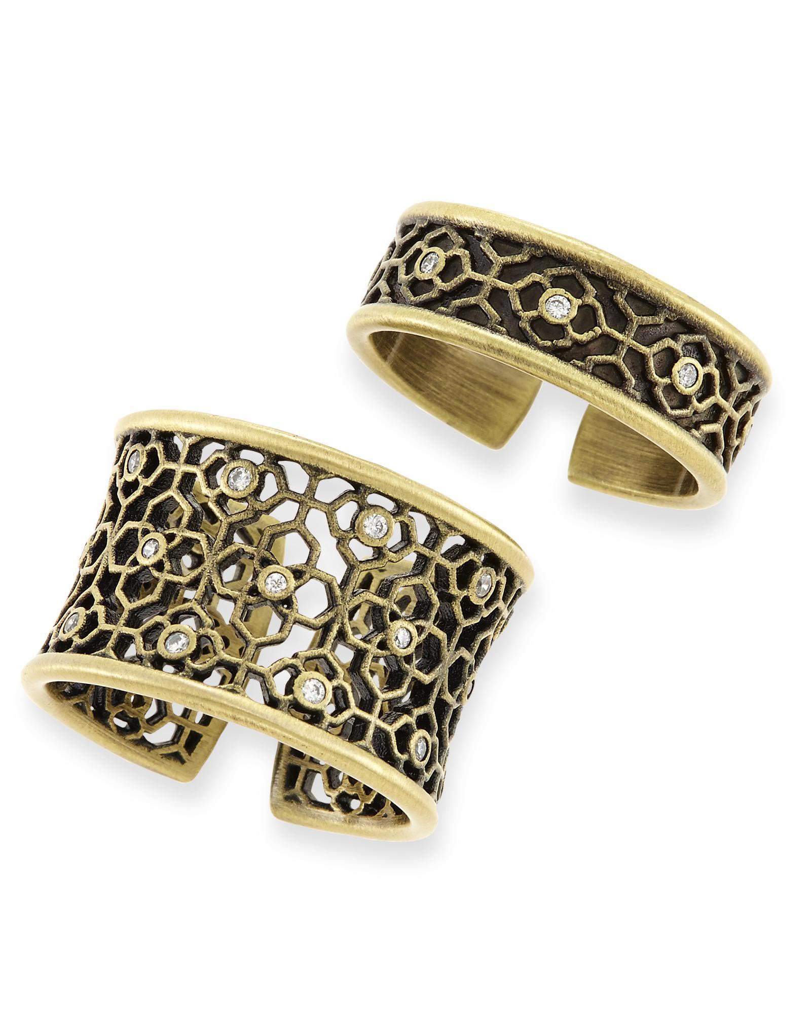 Kensey Ring Set in Antique Brass