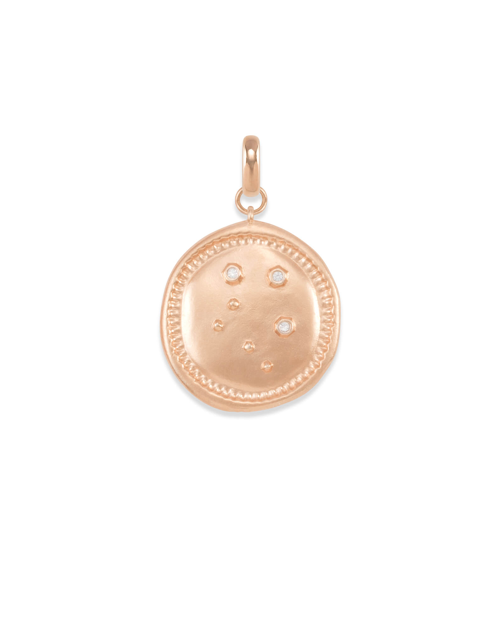 Libra Coin Charm in Rose Gold