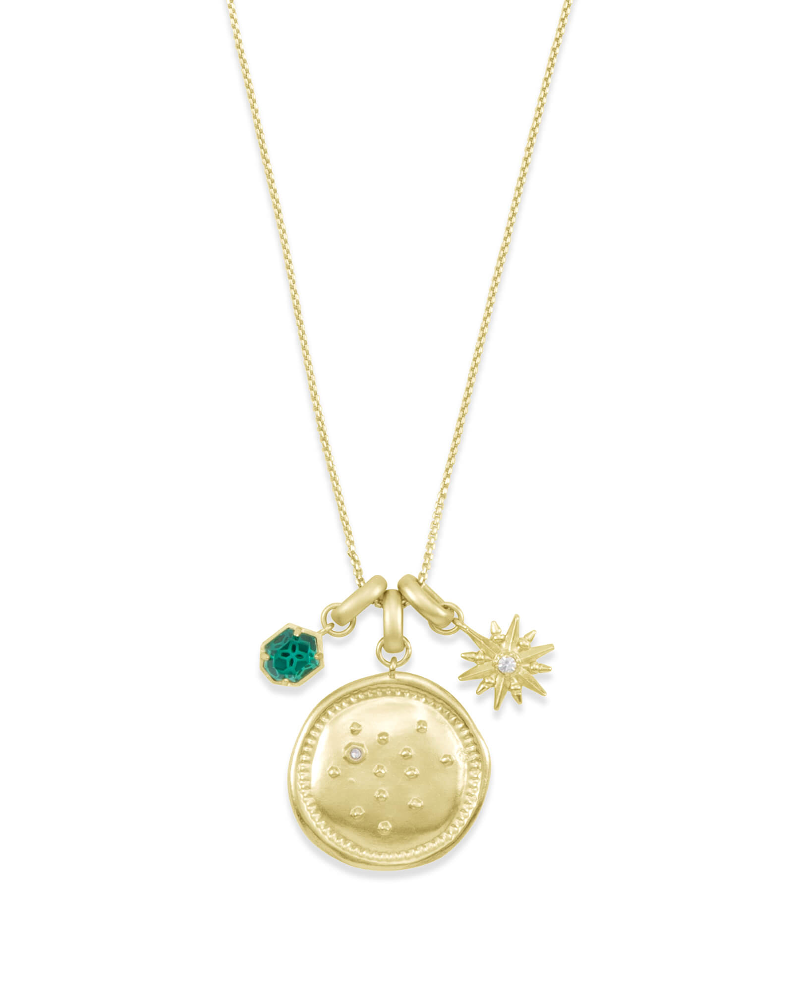 December Sagittarius Charm Necklace Set