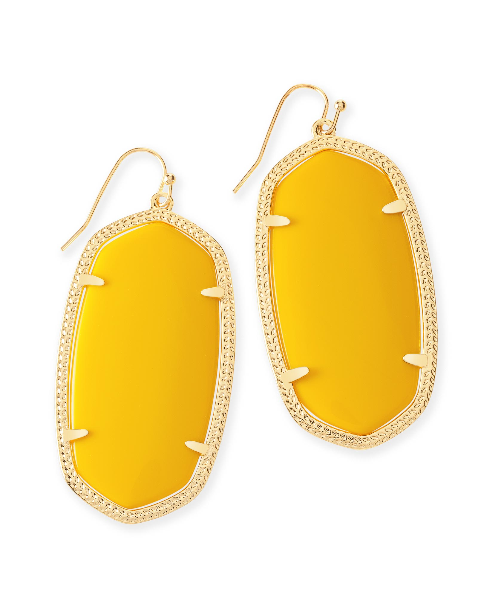 Danielle Earrings In Yellow