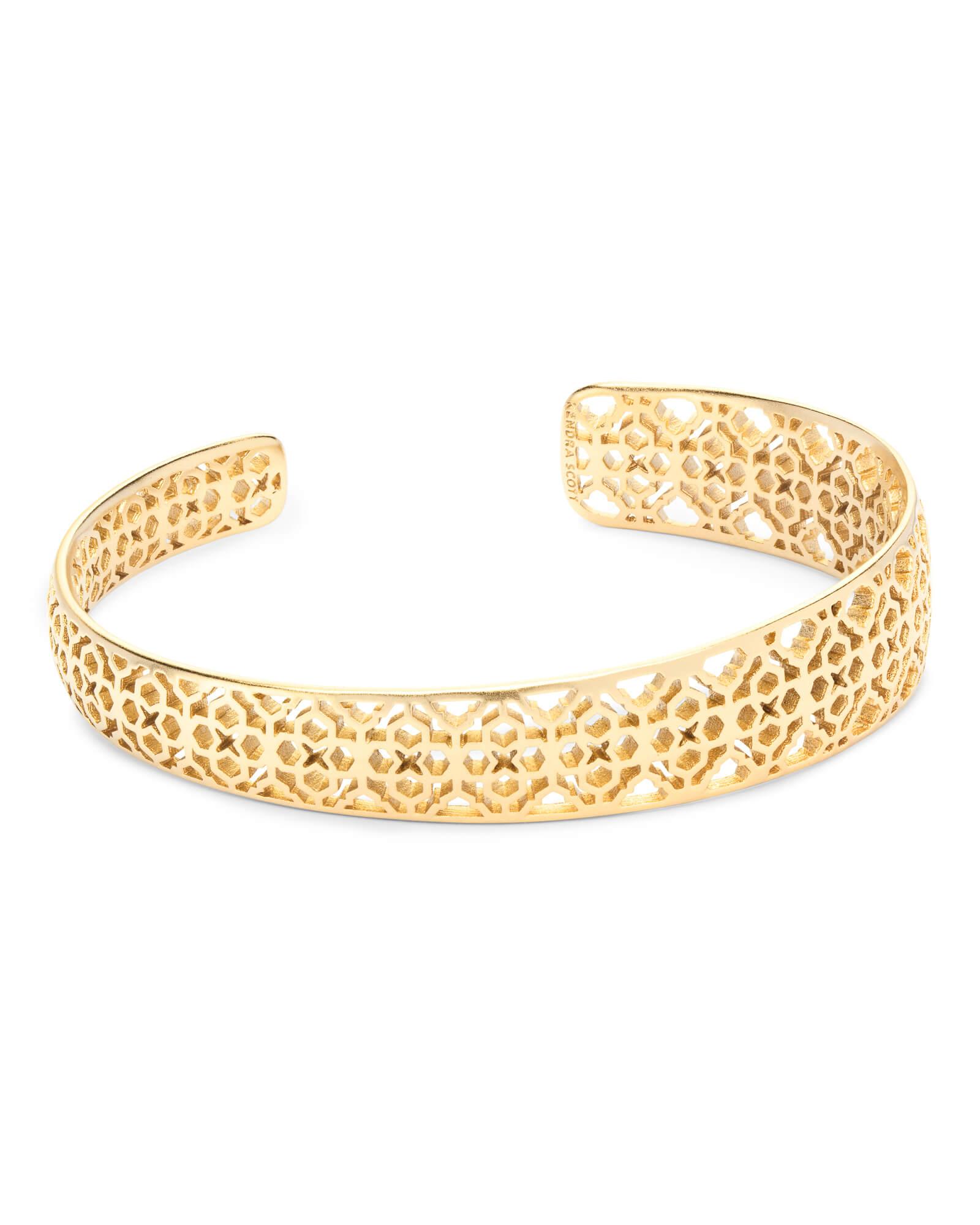 Uma Cuff Bracelet In Gold Kendrascott