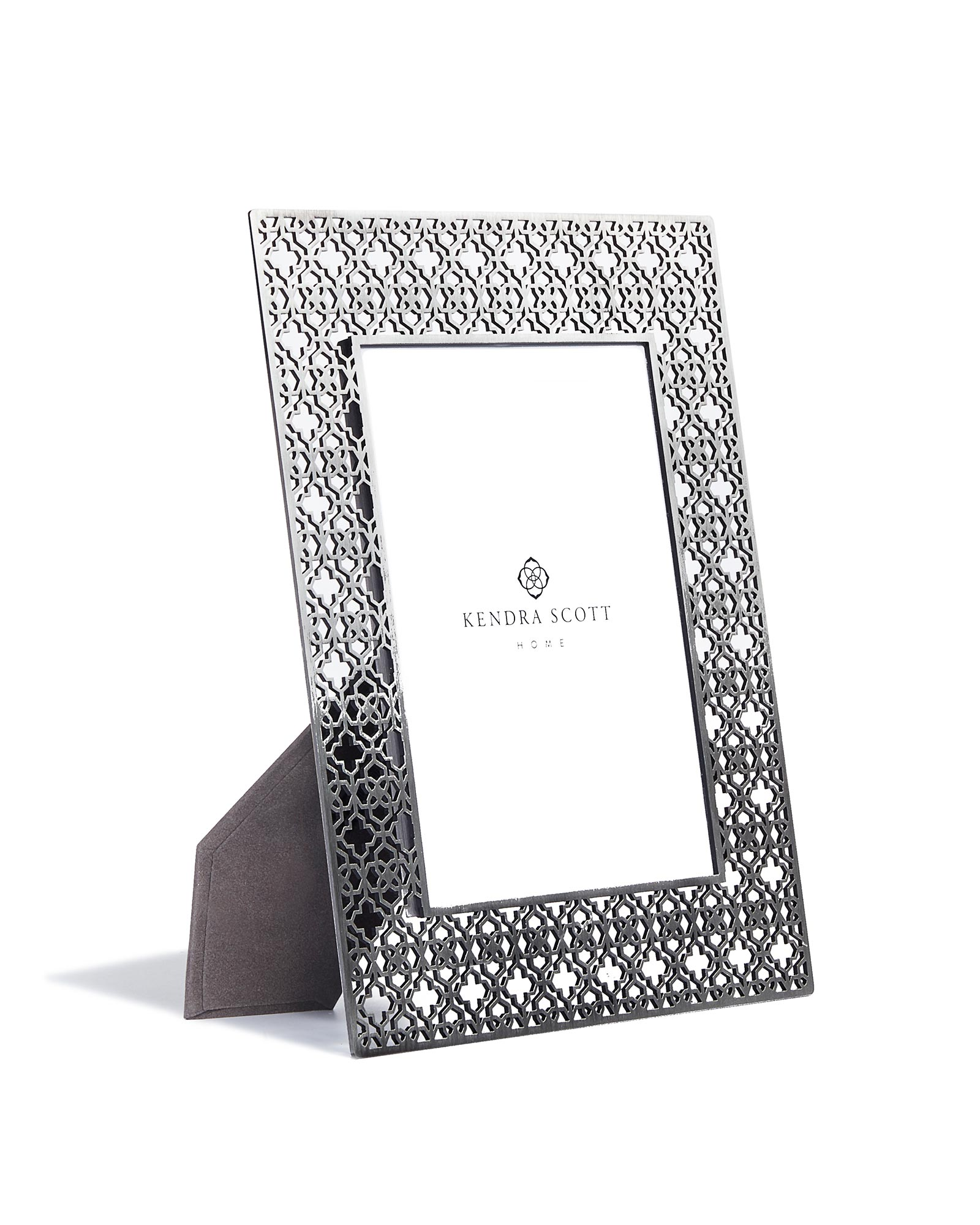 5x7 Filigree Photo Frame in Antique Silver