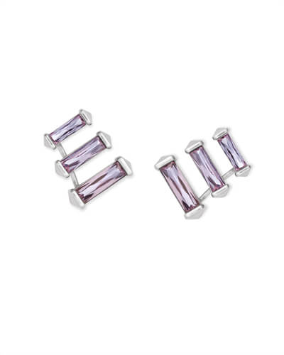 Brooks Silver Ear Climbers in Lilac Crystal