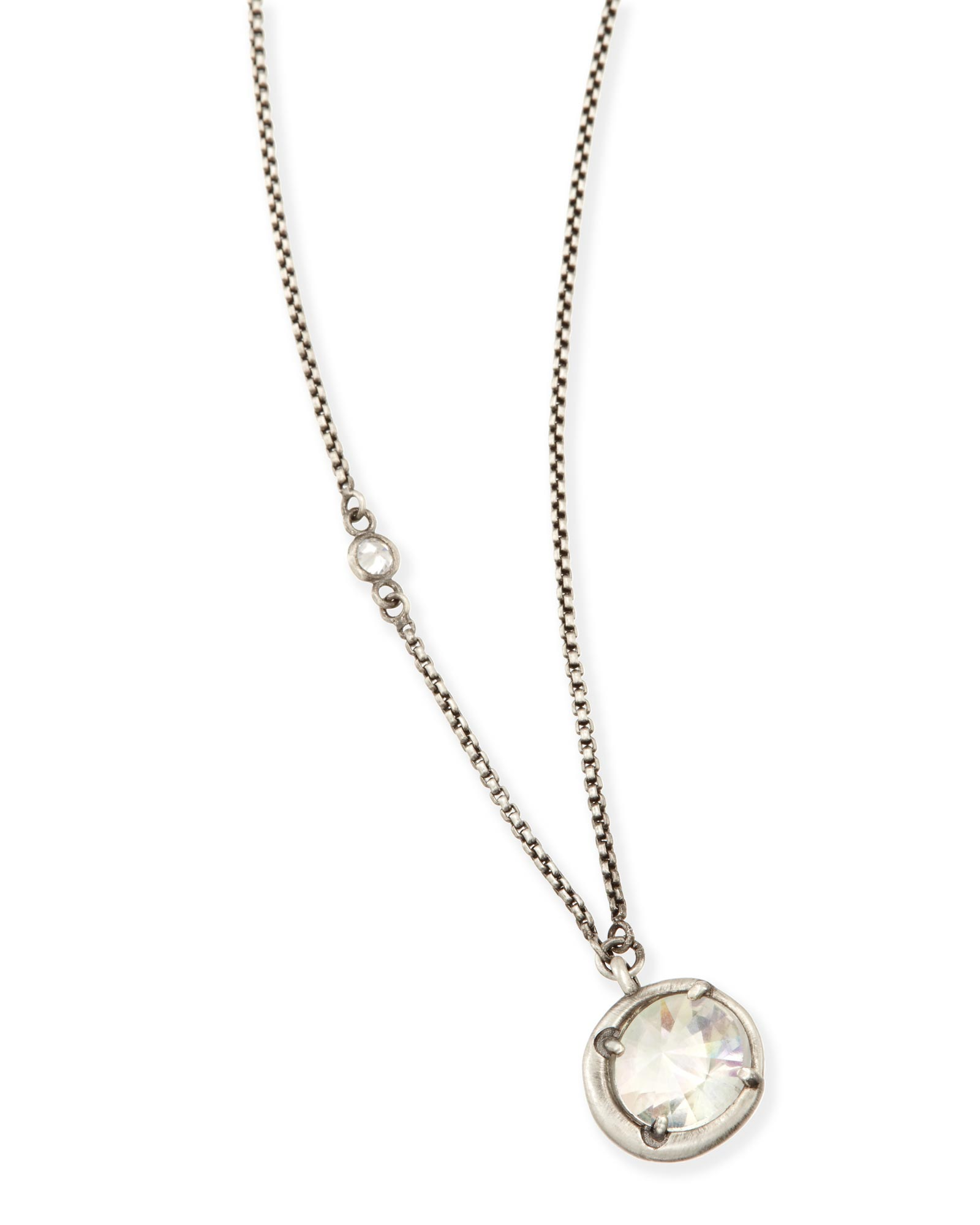 Quinn Long Pendant Necklace