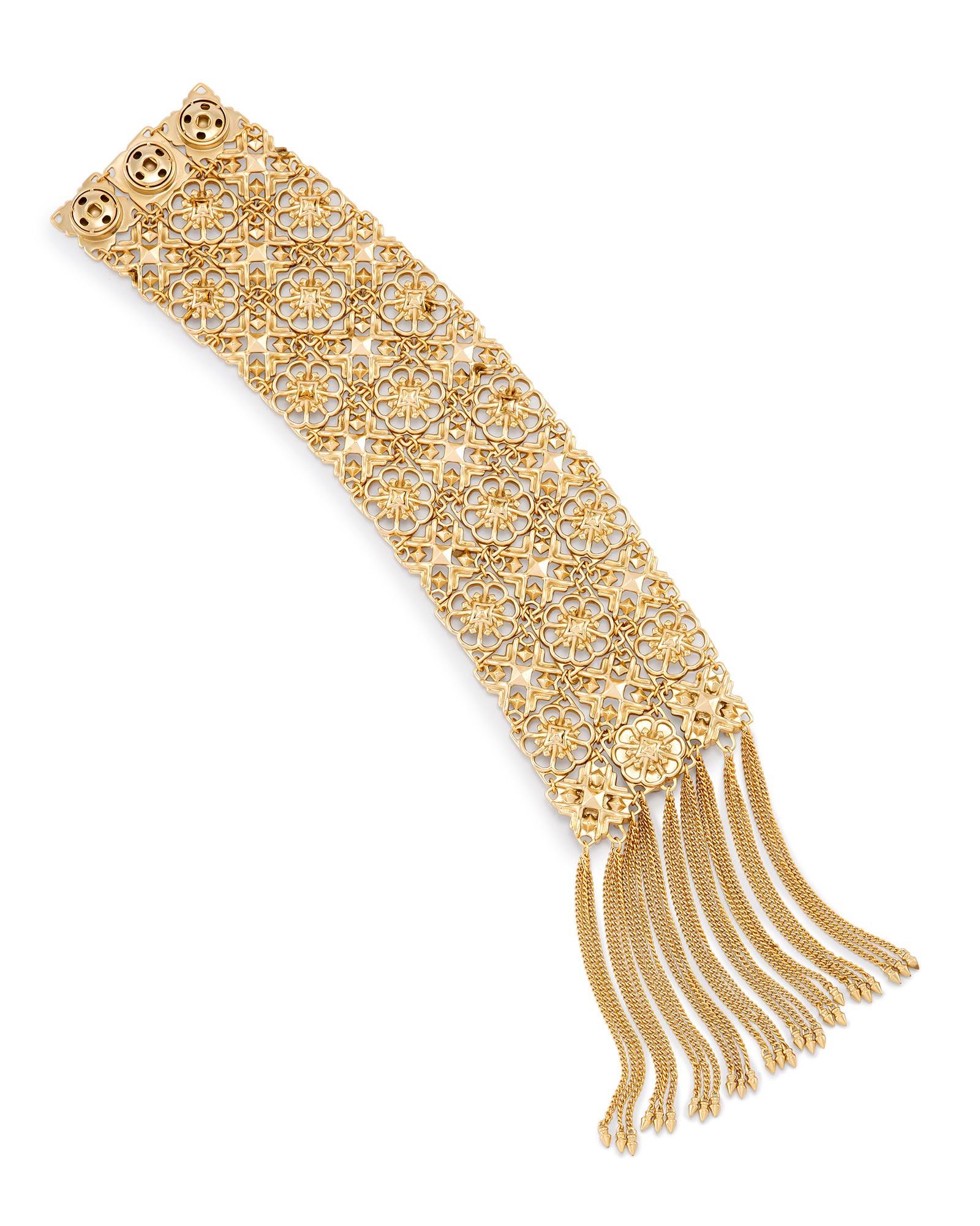 Iris Statement Bracelet