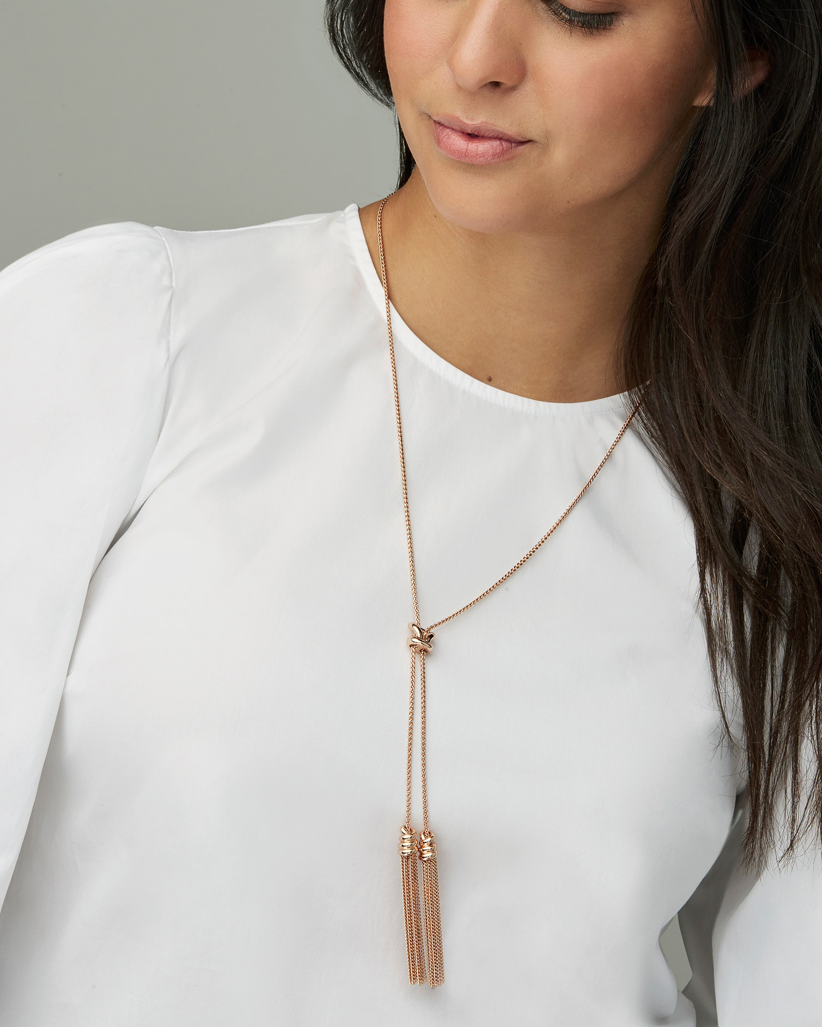 Presleigh Y Necklace