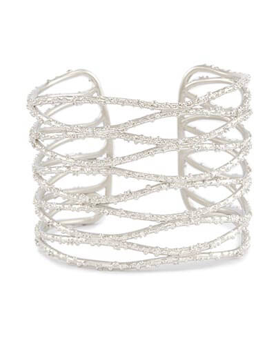 Kendra Scott - Nicolas Cuff Bracelet in Silver Photo