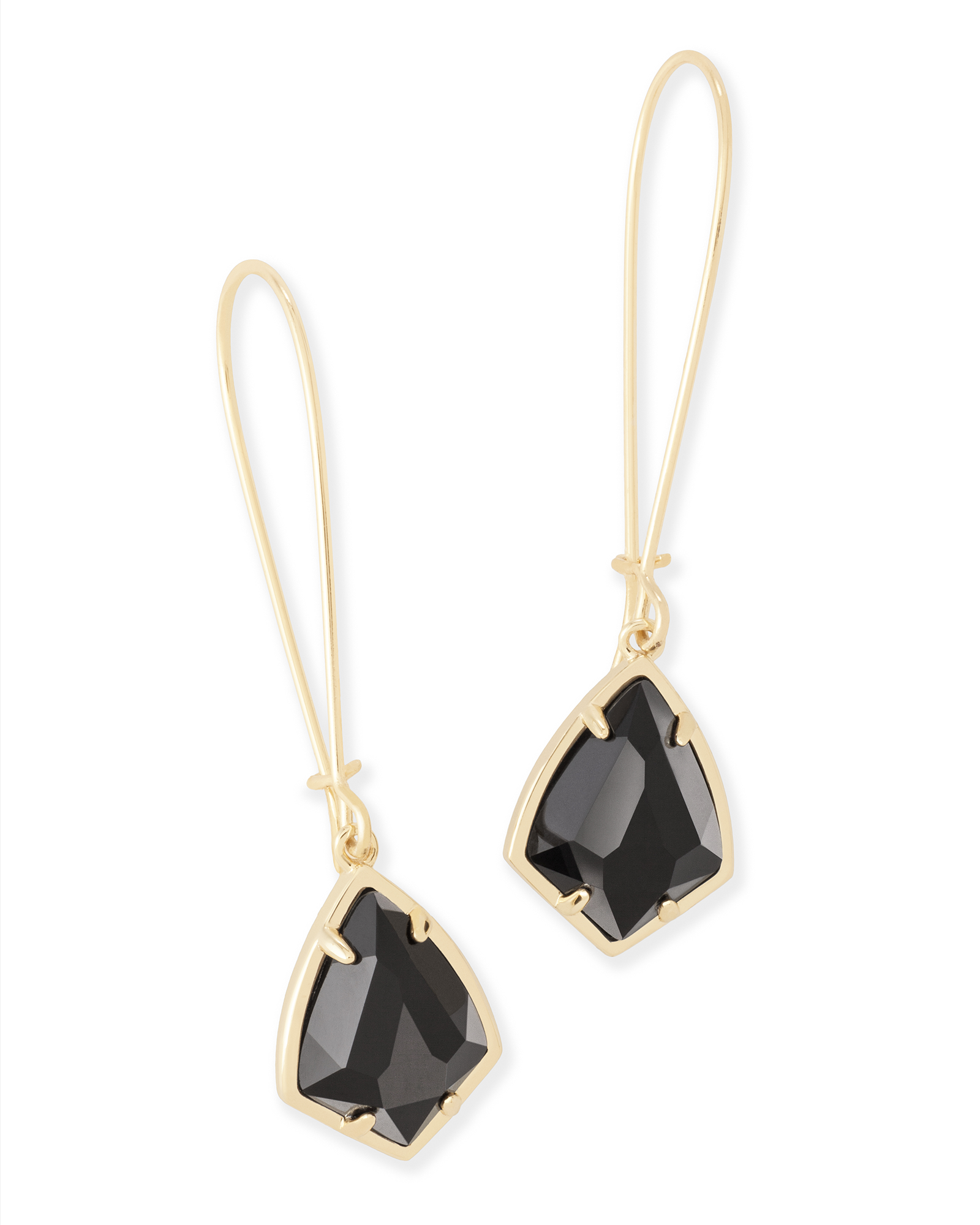 Carinne Drop Earrings in Gold