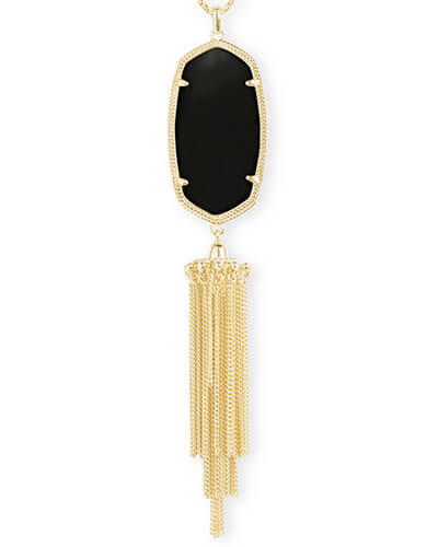 Rayne Necklace in Black