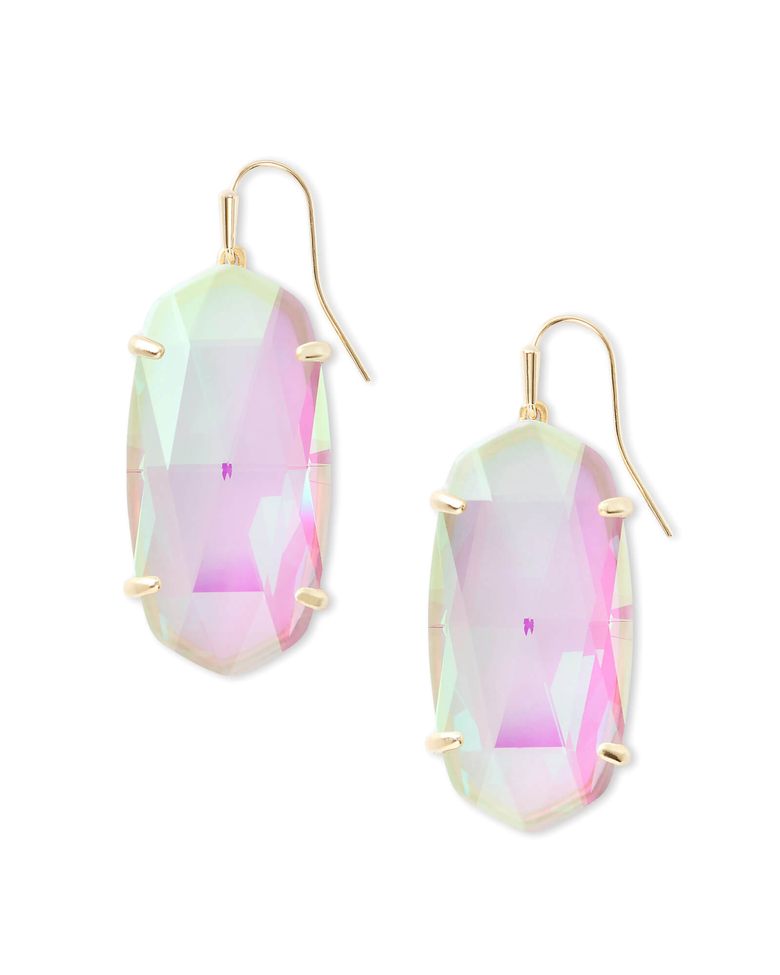 Dichroic Glass Earrings For Sale