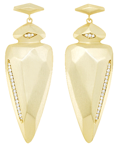 Stellar Earrings in Gold