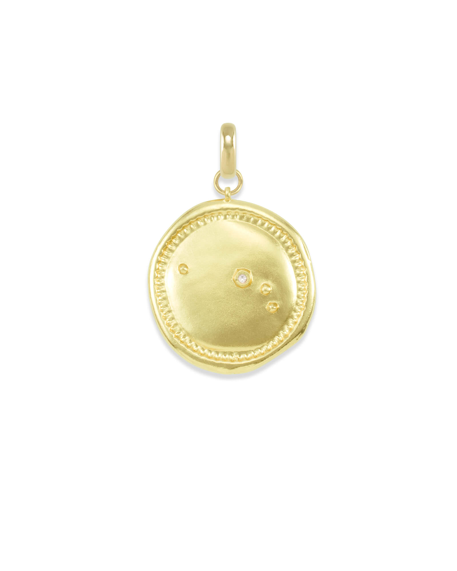 Aries Large Coin Charm