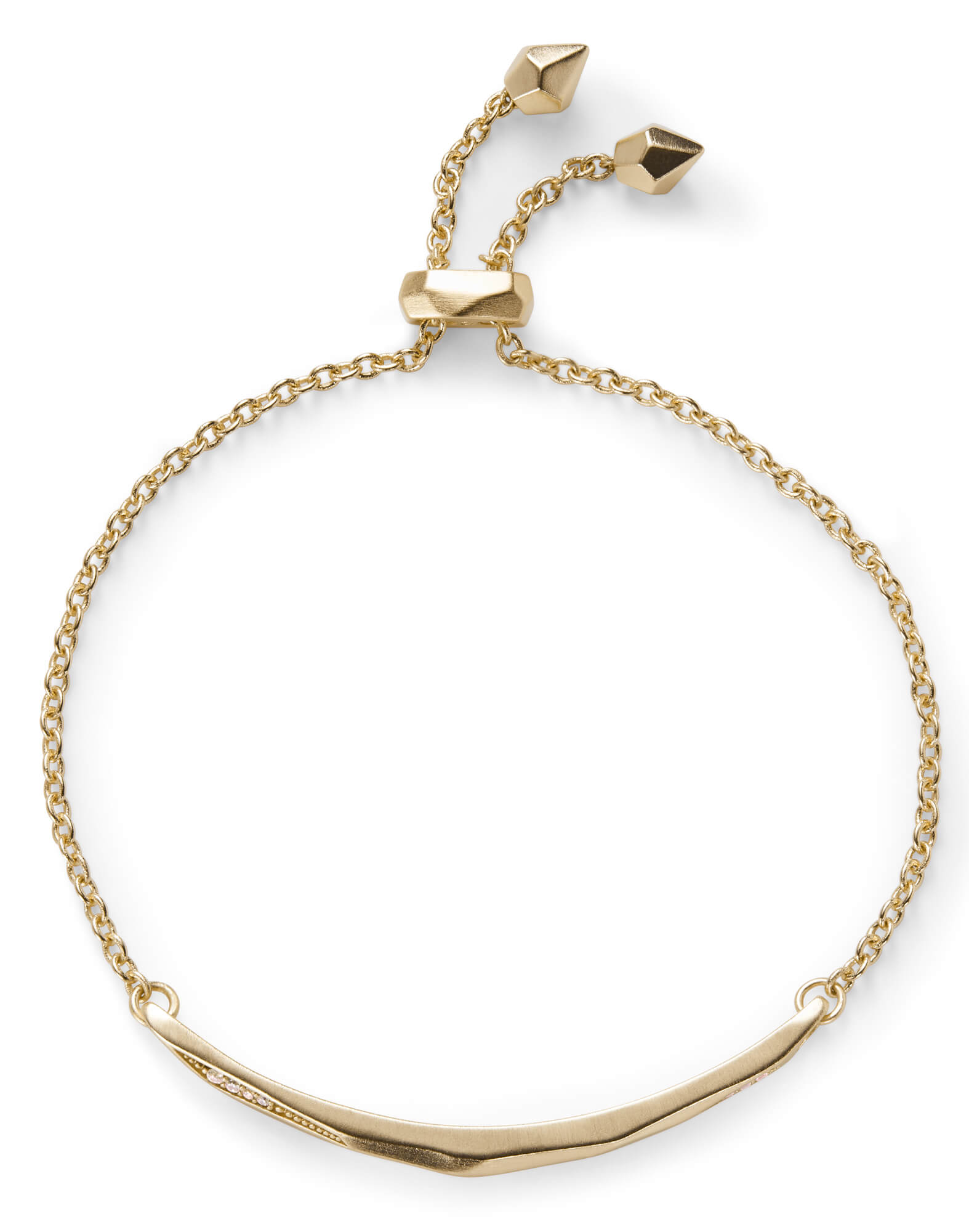 Angela Adjule Chain Bracelet In Gold