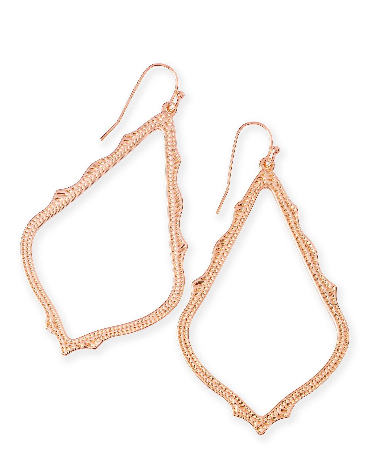 Sophee Drop Earrings in Rose Gold Kendra Scott Jewelry