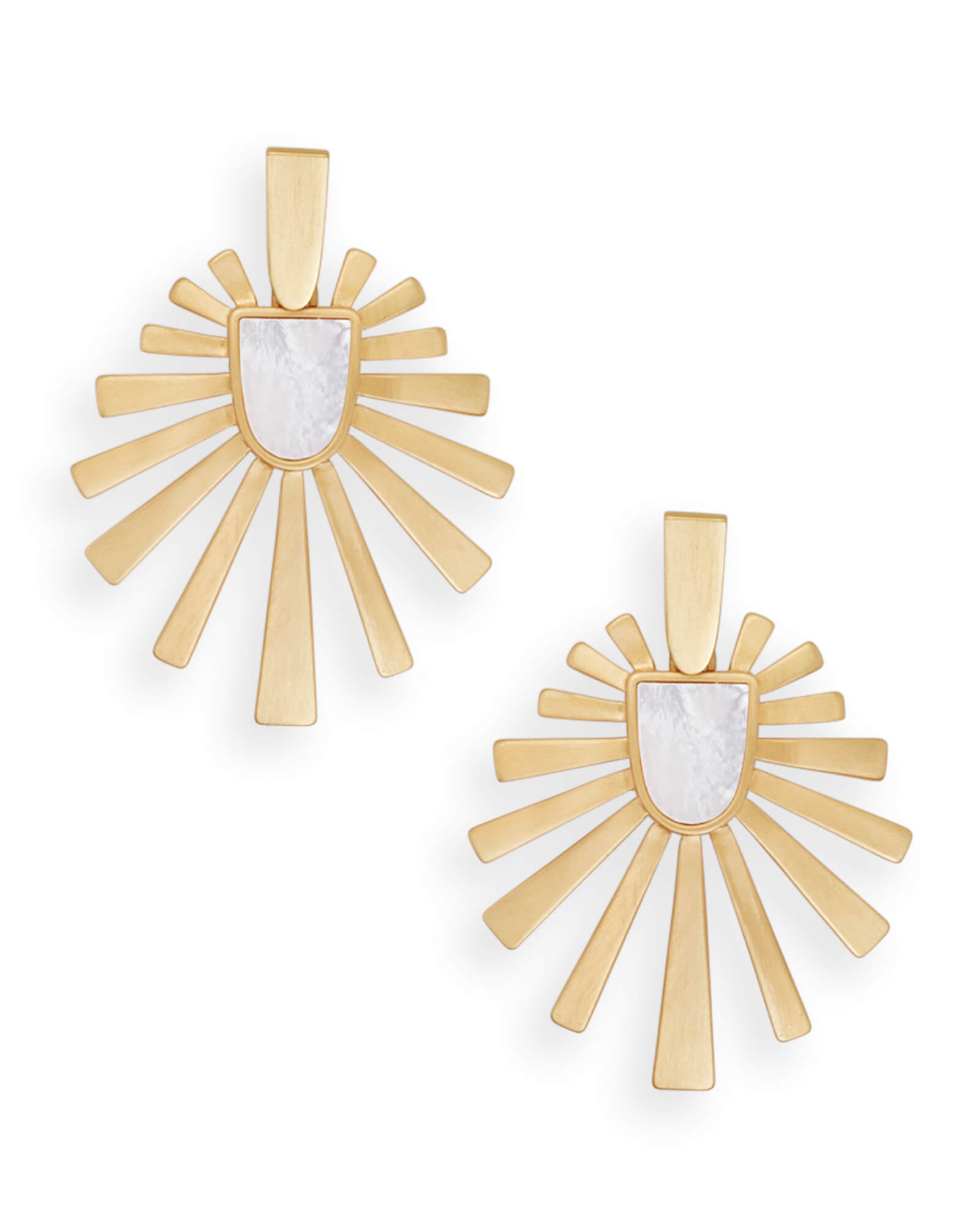 Cambria Statement Earrings in Gold