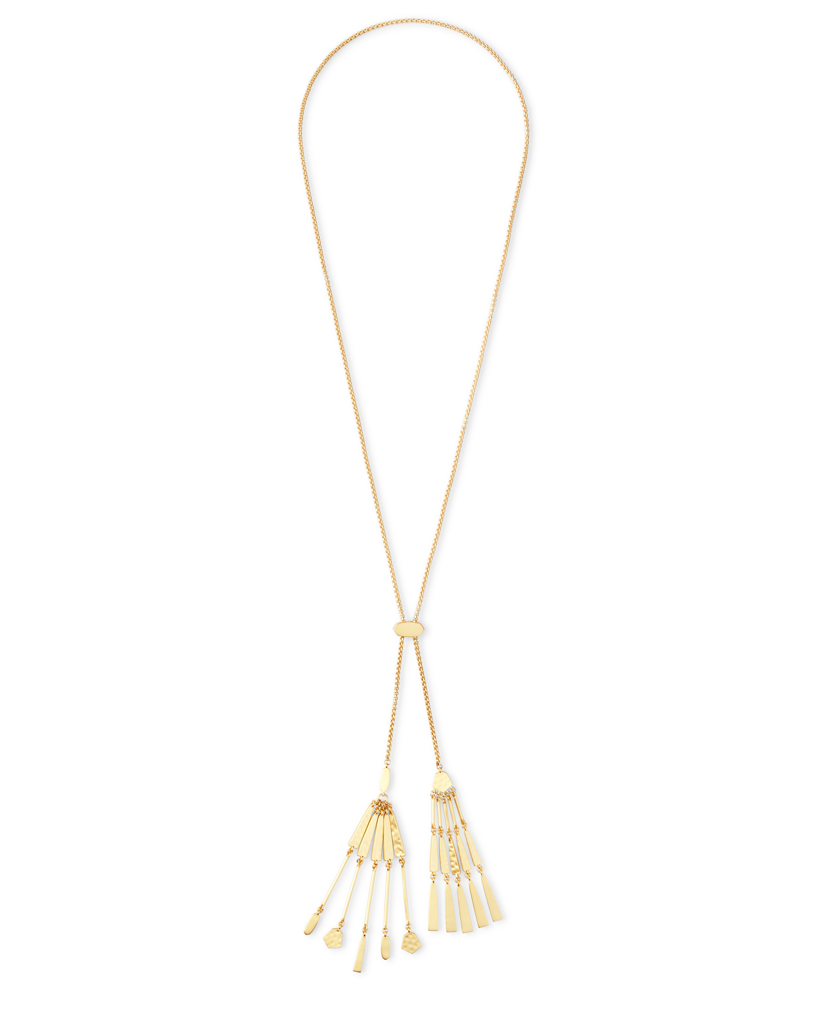 Lainey Y Necklace in Gold
