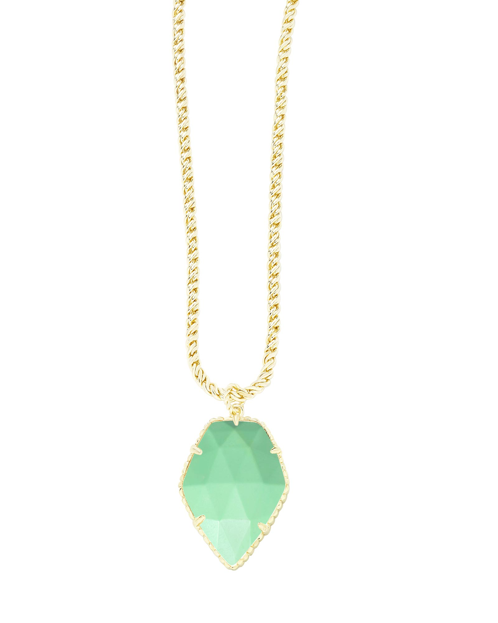 Corla Gold Necklace in Mint