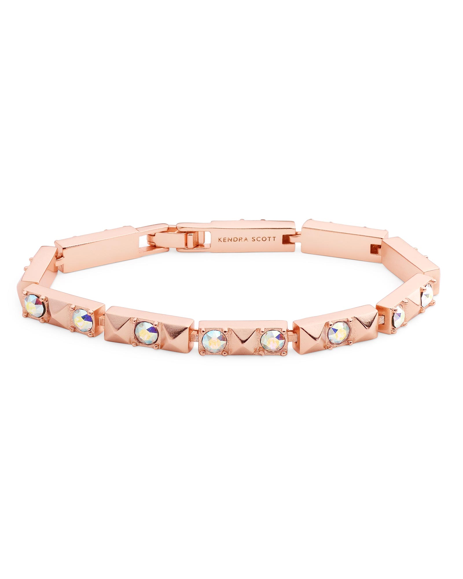 Phillipe Link Bracelet in Rose Gold