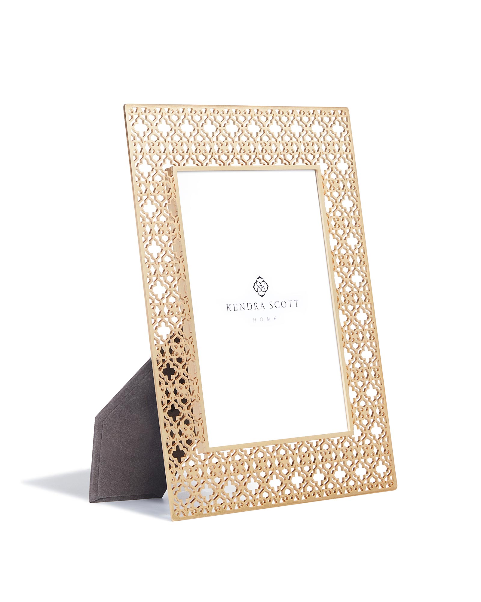 5x7 Filigree Photo Frame in Bright Brass