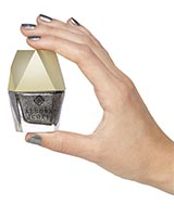 Platinum Drusy Nail Lacquer