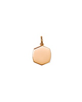 Davis Small Charm in 18k Rose Gold Vermeil