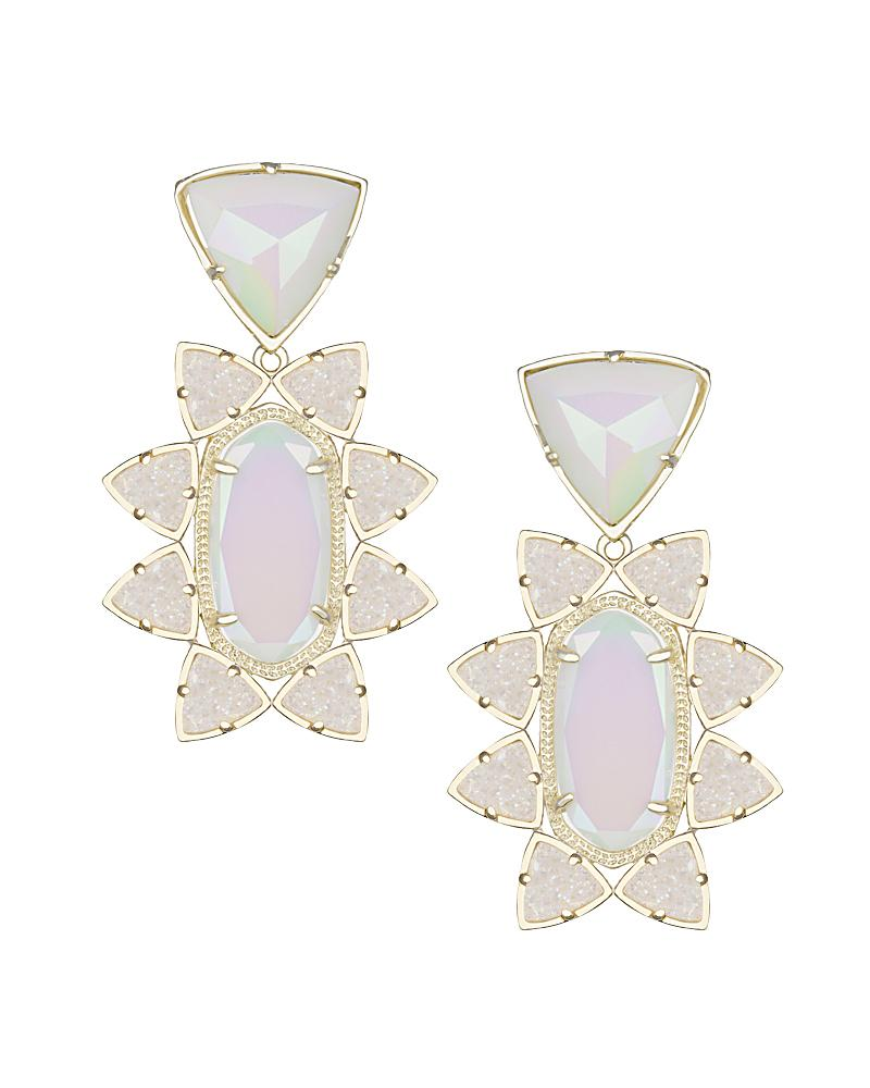 Auden Statement Earrings in Iridescent Viva