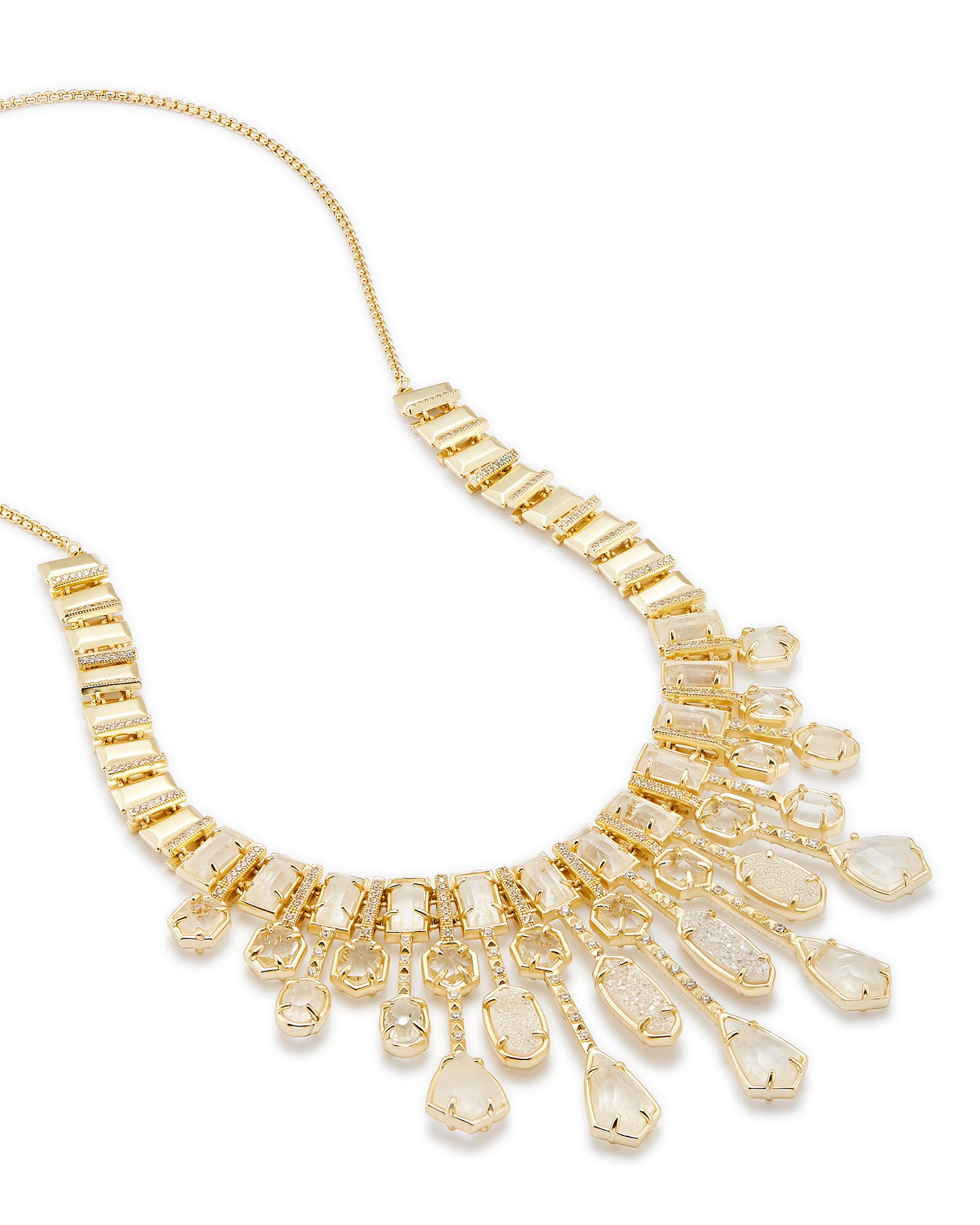 Bette Statement Necklace in Gold