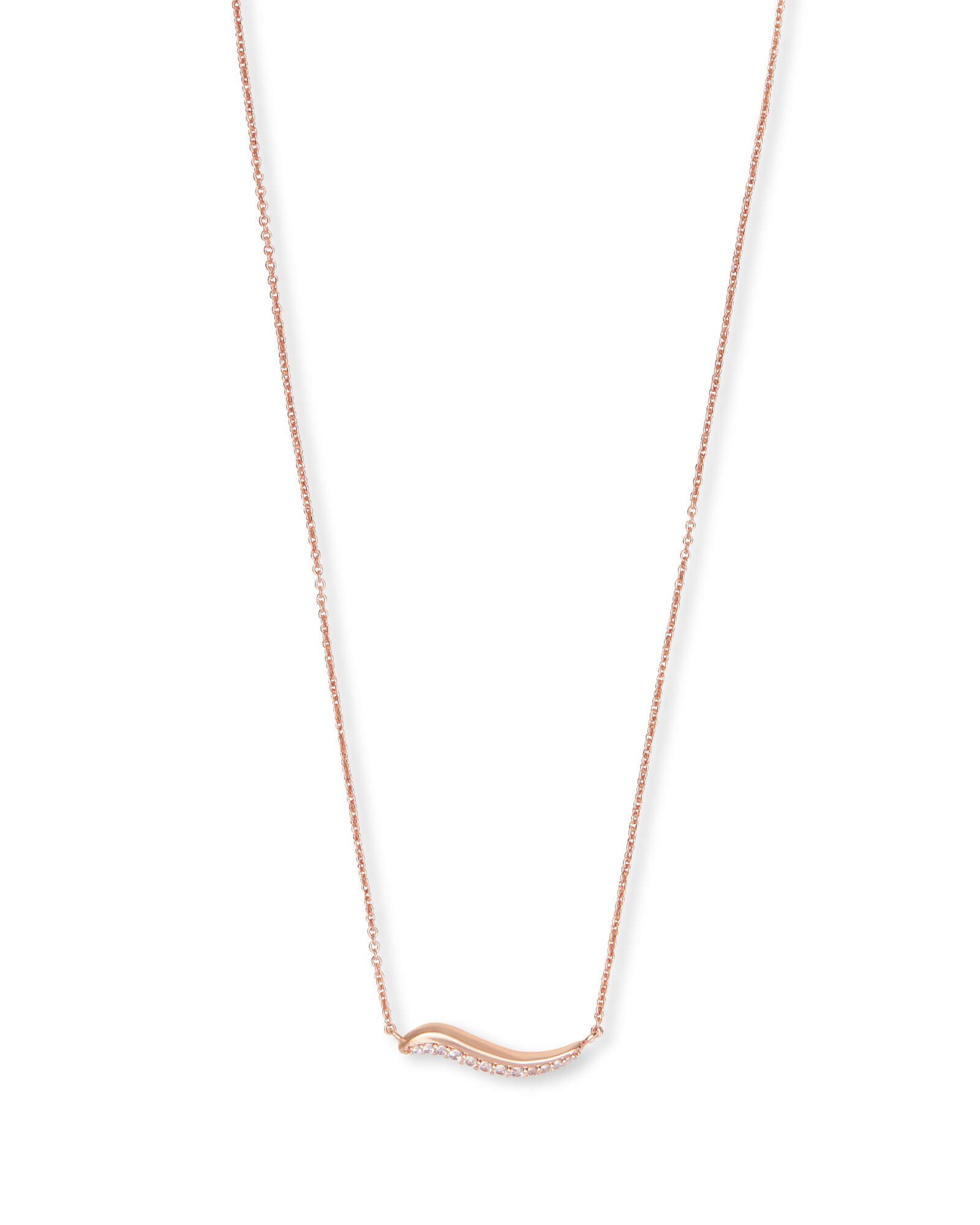Jagger Pendant Necklace In Rose Gold Jewelry Kendra Scott