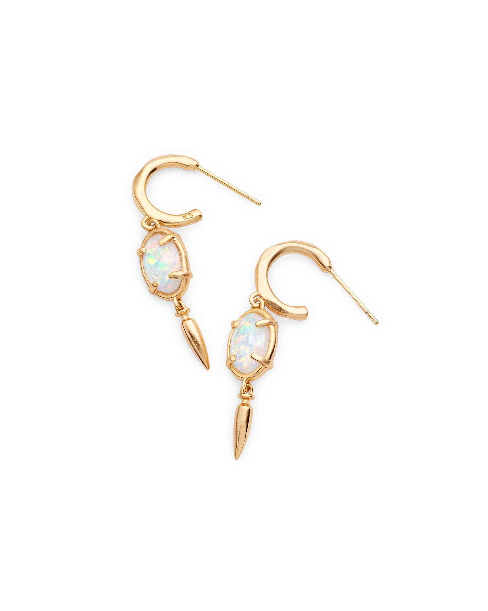 Trixie Drop Earrings in Gold
