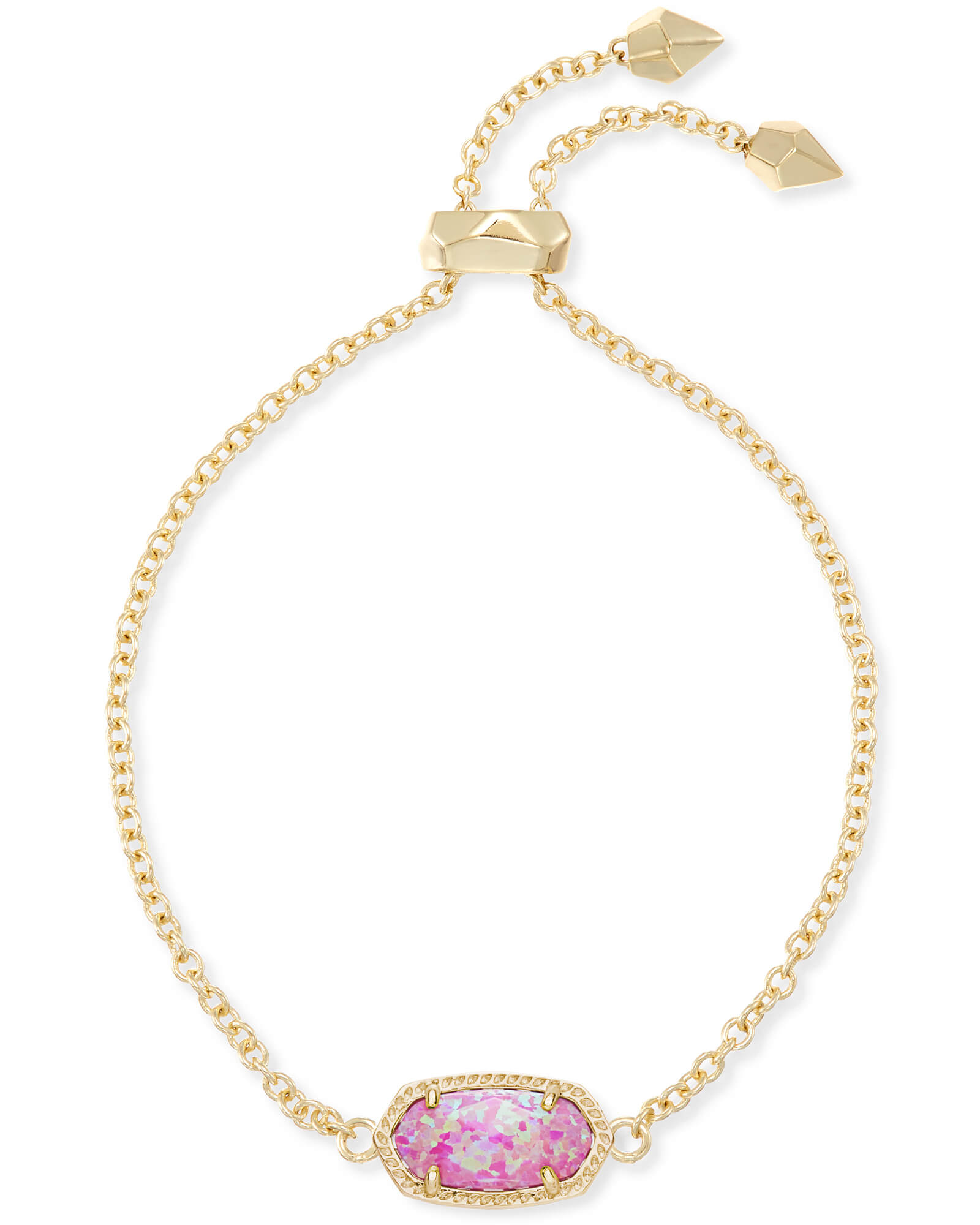 Elaina Adjustable Chain Bracelet in Gold