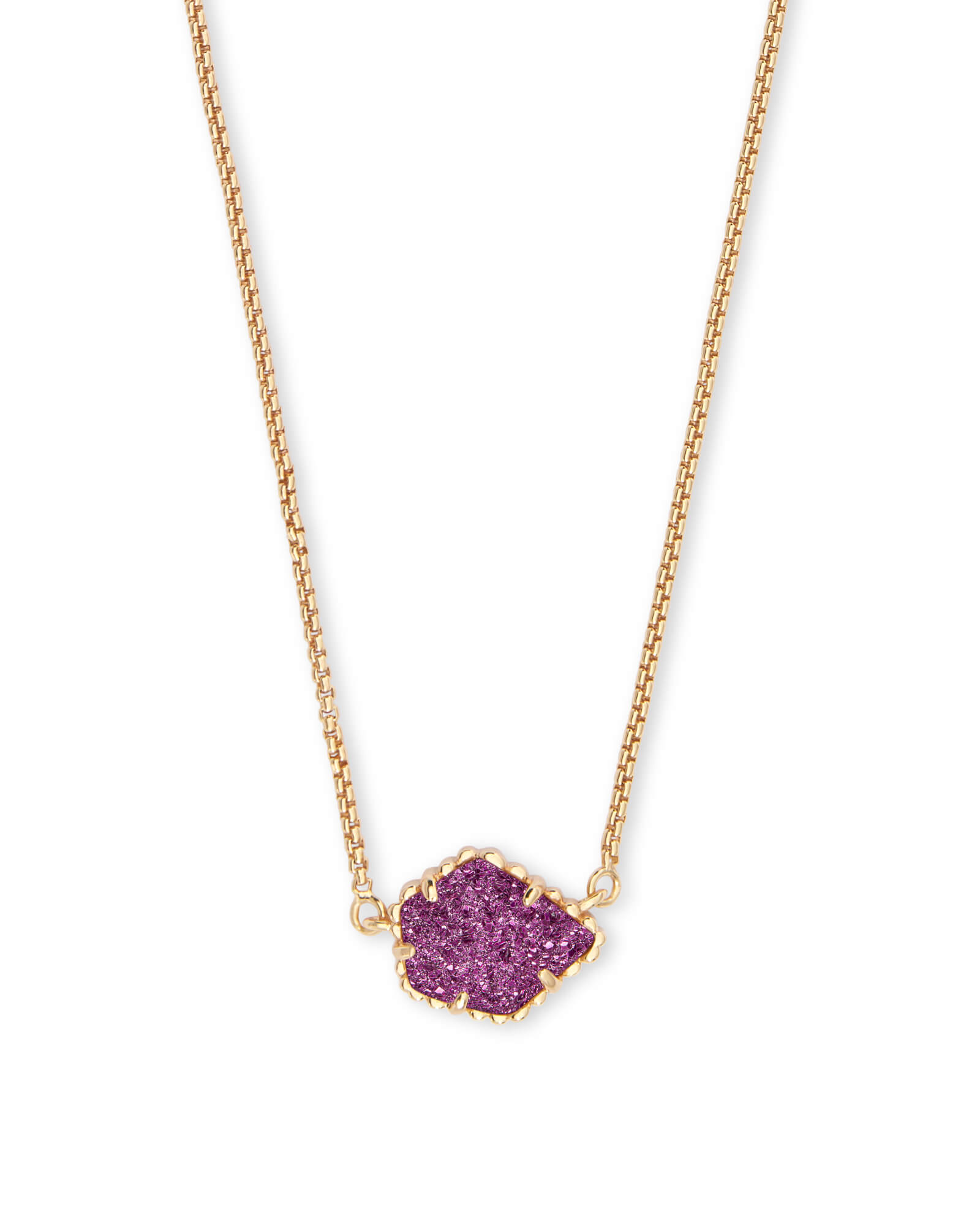 Tess Pendant Necklace in Gold