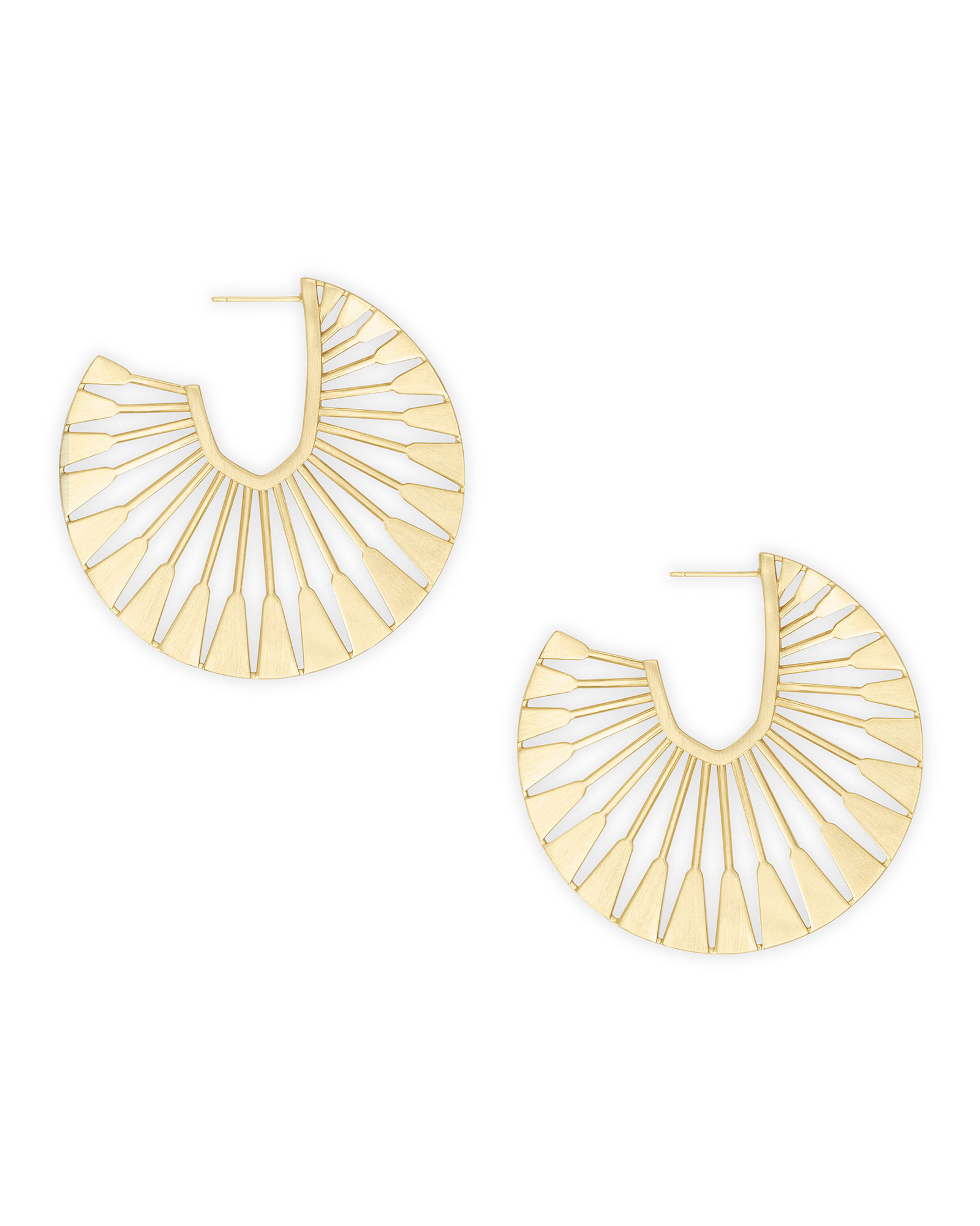 Deanne Hoop Earrings in Gold