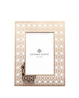 4x6 Filigree Photo Frame in Rose Gold