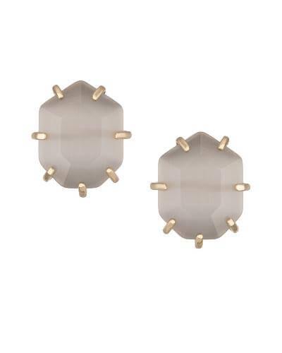 Kendra Scott - Morgan Stud Earrings in Slate Photo